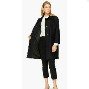 🔷Kate Spade 🔷Floral Lace trim coat